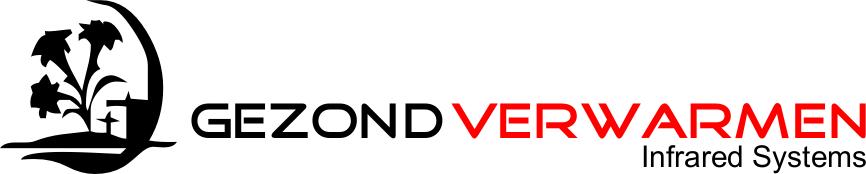 logo gezond verwarmen zwart rood