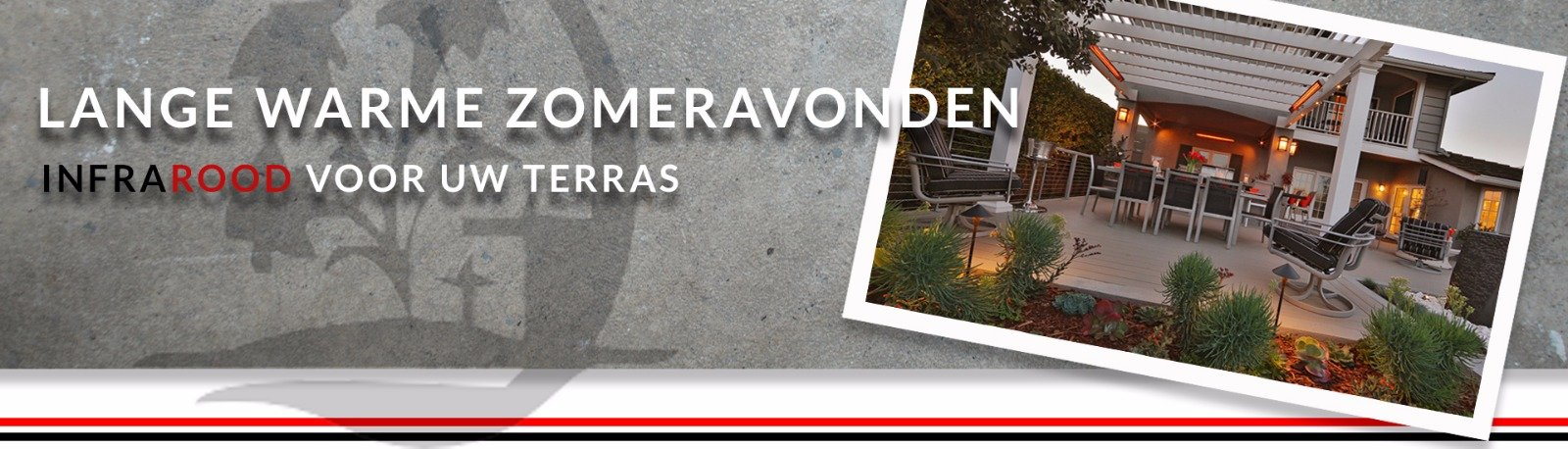 Infrarood terrasverwarming | prijs terrasverwarming
