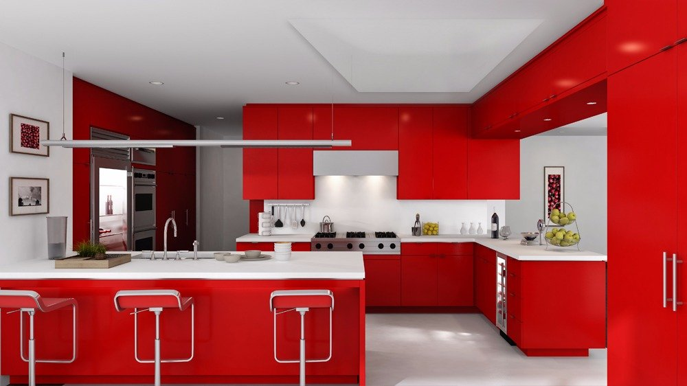 Infrarood bijverwarming voor keuken